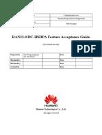 RAN12.0 DC HSDPA Feature Acceptance Guide 20100802 V1.0 A