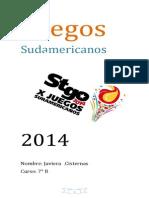 Juegos Sudamericanos  2014