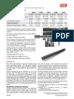 DSI-37 Self-Drilling Bolt Proof