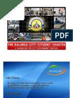 Balanga City Citizens Charter
