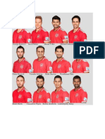 Kings XI Punjab Squad 2014