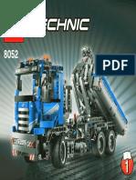 Lego Manual 8052-1