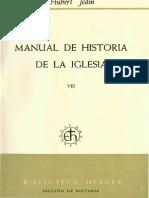 Manual de Historia de la Iglesia 8. Entre la adaptación y la resistencia (H. Jedin)