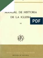 Manual de Historia de la Iglesia 7. Entre la Revolución y la Restauración (H. Jedin)