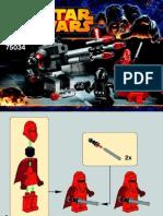 Lego Manual 75034