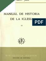 Manual de Historia de la Iglesia 6. Absolutismo e Ilustración (H. Jedin)