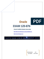 Oracle Solaris Certified Associate 1Z0-876