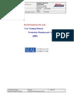 1. Qty Distribution Profile