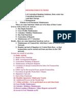 24- Data Base Admininstrator Functions