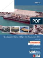 Oil Spill Risk Assessment