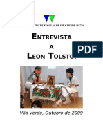 Entrevista Leon Tolstoi