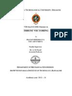 Thrust Vectoring - Technical Seminar
