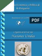 Geografía Económica y Política de La Postguerra