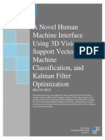 A Novel Human Machine Interface Using 3D Vision and Kalman Filter Optimization
