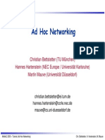 AdHoc Networking Tutotial (Explanation in Detail)