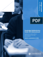 83914 Cambridge Administrative Guide 2013 International