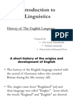 Introduction to Linguistics(Group 1)
