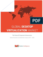 Desktop Virtualization Market – the Future of Corporate Infrastructure – Market Penetration and Stakeholder Analysis (2014 – 2020)