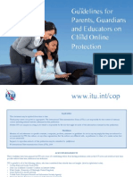 Guidelines for Parents, Guardians and Educators on Child Online Protection