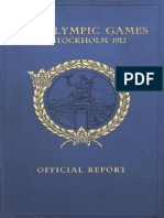 THE OFFICIAL REPORT OF THE OLYMPIC GAMES OF STOCKHOLM 1912.