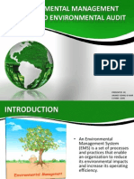 Environmental Management System and Environmental Audit