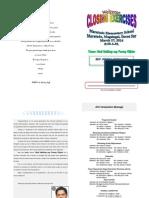 Graduation Exercises Programme 2014 New