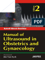 Kakoli Ghosh Dastidar Manual of Ultrasound in Obstetrics and Gynaecology, 2nd Edition 2009