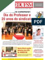 Jornal SEDUFSM de Outubro 2009