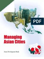 Managing Asian Cities