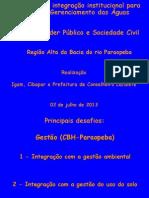 Bacia Rio Paraopeba - 02 Jul 13 Mauro Da Costa Val