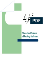 18015139 Tajweed the Art Science of Recitation