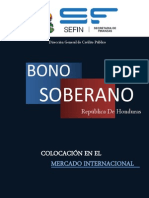 Colocacion Bono Soberano 1