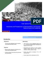 National Poll - Dec 2007 - Press Release