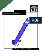Synchronized Telescopic Cylinder Manual