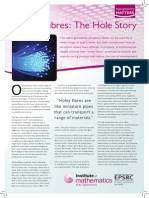 Optical Fibres the Hole Story