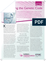 Unravelling the Genetic Code