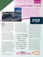 Volcanic Ash Air Travel Under a Cloud