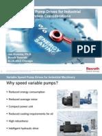 Variable Speed Pump Komsta Powerpoint Presentation