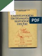 Crestomatie De Literatura Romana Veche vol 1