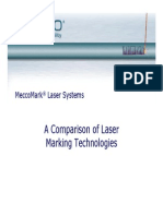 Laser Technology Comparison 111406 Rev8
