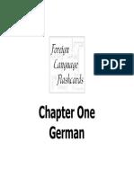 German Chapter One v2