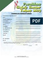 12. Formulir Pendaftaran Naga 2009