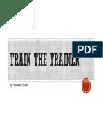Train the Trainer [Compatibility Mode]