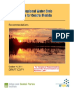 Creating a Regional Water Civic Architecture for Central Florida