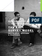 The KAP Survey Model