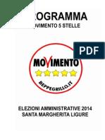 Programma Elettorale MoVimento 5 Stelle Santa Margherita Ligure