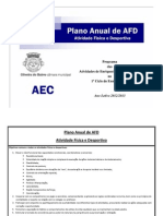 Plano Anual AFD