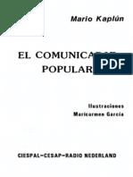 El Comunicador Popular Mario Kaplún