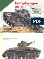 021 Waffen Arsenal Panzerkampfwagen Skoda 35 t