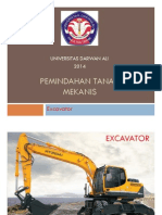 Pemindahan Tanah Mekanis (Excavator)